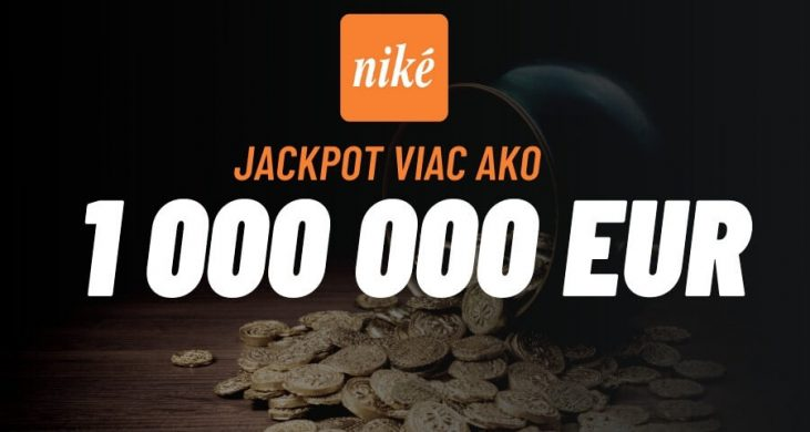 Niké casino Svet hier – Hrajte o MEGA JACKPOT v hodnote viac ako 1,2 milióna EUR